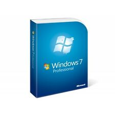 Microsoft Windows 7 Professional per 1pc * ORIGINALE * + aggiornamento * 32+64 bit