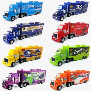 Cars No.00-No.123 McQueen Mack Hauler Truck 1/55 Diecast Car Loose Lot Boy Toy