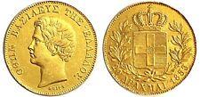 1833 Greece Othon 20 Drachmai Gold Coin #KM21