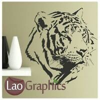 White Tiger Big Cat Wall Art Sticker Large Vinyl Transfer Graphic Decal Home CA2
