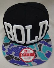 New Era One Size Bold M L Camo Snapback 9Fifty Baseball Cap Hat