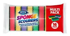 More details for 96 non-scratch sponge scourers washing up scrubber multicoloured