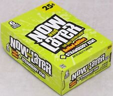 Now and Later Strawberry Kiwi Candy Chews Limited Edition 6-pc Bars 24 Count Box