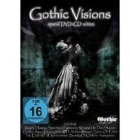 GOTHIC VISIONS (VOL. 1) DVD+CD WAYNE HUSSEY NEW