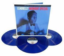 Leadbelly Midnight Special 3 LP Gatefold Set Blue Vinyl Record John Hard + more