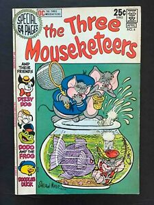 THE THREE MOUSEKETEERS #6 DC COMICS 1971 VF-