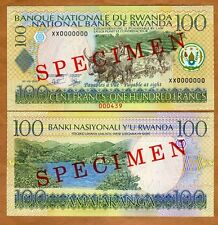 New listing Specimen, Rwanda, 100 Francs, 1-9-2003, P-29s, (29bS) Unc