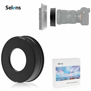 Selens Round 58mm Lens Adaptor Ring For Square Filter Holder Outdoor Shooting