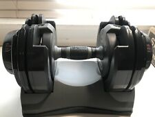 Single BOWFLEX SelectTech 220 (NOT 552) Dumbbell Weight (2.5 - 20 lbs) with Base