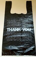 T Shirt Thank You Plastic Grocery Store Shopping Carry Out Bag Recyclable 100ct