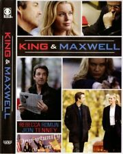 King n Maxwell (2-Dvd) Jon Tenney, Rebecca Romijn Like New Mini-Series 7Hrs +