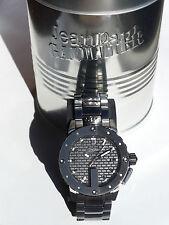 Montre Jean-Paul Gaultier neuve homme, cadran acier, bracelet acier 8500107
