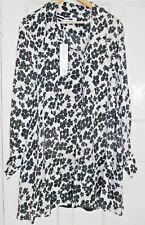 McQ Alexander McQueen 'Pussy Bow' Mini Dress - Size 8