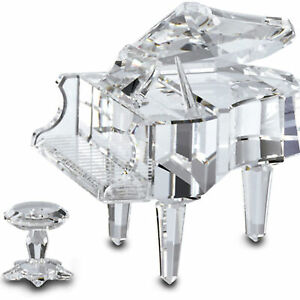 Swarovski Crystal Figurine 174506 ln box Grand Piano with Stool