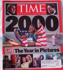 "Time Magazine, ""The Year in Pictures - 2000,"" Special Edition, Winter 2000-2001"