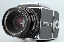 Hasselblad 500 C/M CM + CF Planar 80mm F2.8 + A-12 Film Back Set