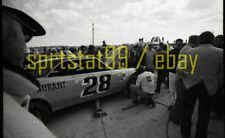 1973 Joe Thurman #28 Chevy - NASCAR Daytona Permatex 300 - Vintage Race Negative