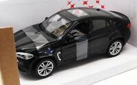 Rastar 1/24 Scale Diecast Model Car 56600 - BMW X6M - Black