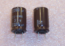 QTY (5) 2200uf 35V 105' RADIAL ELECTROLYTIC KMG35VB222M16X25 NCC FREE SHIPPING
