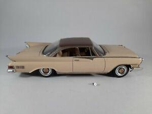 Vtg 1961 Chrysler New Yorker 2 Tone Extra Accessories Promo Plastic Car