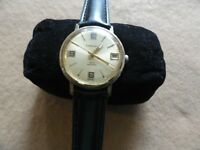 Vintage Caravelle Mechanical Wind Up Men's Watch - Not Working
