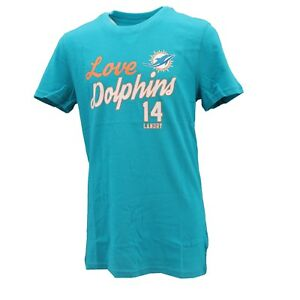 Miami Dolphins Official NFL Kids & Youth Girls Size Jarvis Landry T-Shirt New