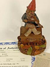 Fiddler 1988 Tom Clark Signed Gnome Figurine 5046 Coa & Story 25