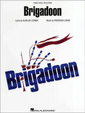 BRIGADOON Lerner Loewe Piano Vocal Guitar Sheet Music Book Film Musical Songbook