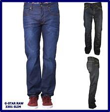 jeans g-star raw uomo denim core classic gamba dritta dritti svasati blu 30 31