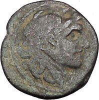 ALEXANDER I BALAS 152BC Seleukid Apollo RARE R1 Ancient Greek Coin i47334