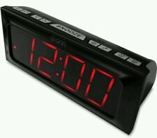 Onn Digital Am/Fm Clock Radio Extra large LED display (FAST-FREE SHIPPING)