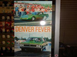 Walter Henry Denver Fever NHRA IHRA Pro Modified Postcard