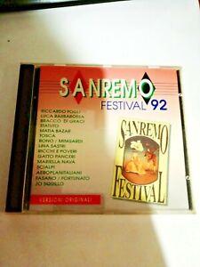 CD ORIGINALE  - SANREMO FESTIVAL 92 - L9