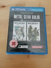 Metal Gear Solid HD Collection factory sealed (Sony PlayStation Vita, 2012)