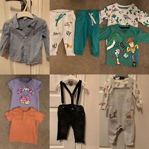 baby boy clothes 6-9 months bundle 20 Pieces Includes H&M Next George Primark