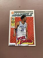 2019-20 Panini - Donruss Basketball: Joel Embiid - Marvels