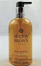 2x MOLTON BROWN ROCKROSE & PINE HAND WASH 300ml (600ml Total)