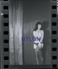RARE AND UNIQUE BETTIE PAGE 1950's 35mm NEGATIVE