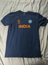 Cricket World Cup Men's Fanatics India Team T-Shirt MC7 Navy 264105 Medium NWT
