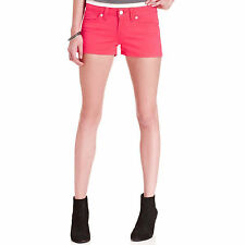 Levi's Twill Flat Front  Shortie Short in Pink, Size Juniors' 9/29