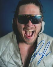 Joey Janela Signed 8x10 Photo Wrestling Autograph WWE All In Evolve Bad Boy 2