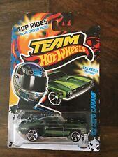 Team Hot Wheels'68 Copo Camaro (Largo Tarjeta) B/n franqueo combinado
