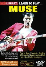 LICK LIBRARY Learn to Play MUSE Hysteria Plug in Baby Rock Lesson GUITAR DVD