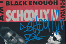 Schoolly D signed PSK Gangsta Rap Hip/Hop Music Rare COA LOOK!