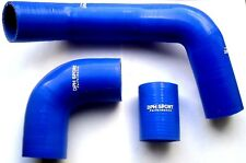 LAND ROVER FREELANDER TD4 INTERCOOLER SILICONE HOSE KIT BLUE
