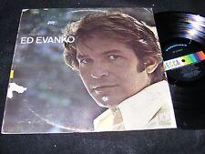 CANADIAN Male Vocalist Decca LP 1970 ED EVANKO Pop Broadway BEEFCAKE Singer!