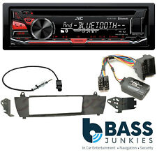 BMW X3 2003-2010 JVC Bluetooth USB CD MP3 AUX iPhone Android SWC Car Stereo Kit