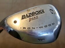 Bazooka Jmax #9 Iron-Wood RH 41 Degree Reactive Flex Golf Club Left Handed RARE