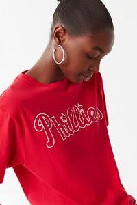 MITCHELL & NESS PHILADELPHIA PHILLIES WOMEN'S TEE SIZE SMALL