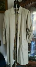 Trench Burberry donna vintage coat jacket cappotto bianco giacca nova check
